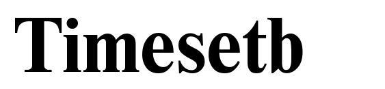 Timesetb font, free Timesetb font, preview Timesetb font