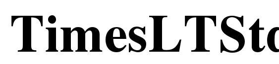 TimesLTStd Bold Font