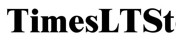 Шрифт TimesLTStd ExtraBold