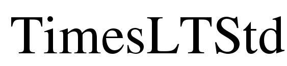TimesLTStd Roman Font