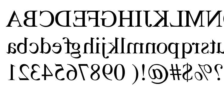 glyphs TimesMirror Regular font, сharacters TimesMirror Regular font, symbols TimesMirror Regular font, character map TimesMirror Regular font, preview TimesMirror Regular font, abc TimesMirror Regular font, TimesMirror Regular font