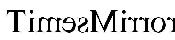 Шрифт TimesMirror Regular
