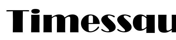 Шрифт Timessquare