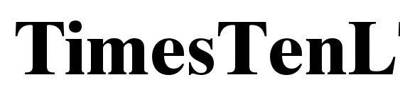 Шрифт TimesTenLTStd Bold