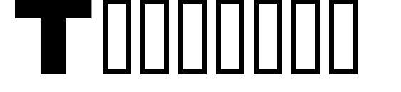 Timetrek Font