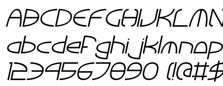 глифы шрифта Tinker round italic, символы шрифта Tinker round italic, символьная карта шрифта Tinker round italic, предварительный просмотр шрифта Tinker round italic, алфавит шрифта Tinker round italic, шрифт Tinker round italic