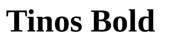 Tinos Bold Font