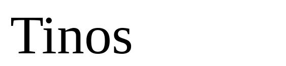 Шрифт Tinos