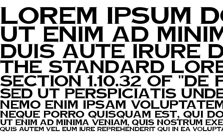 specimens TinPlate Regular DB font, sample TinPlate Regular DB font, an example of writing TinPlate Regular DB font, review TinPlate Regular DB font, preview TinPlate Regular DB font, TinPlate Regular DB font