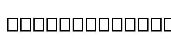 TinplateTitlingNarrow Font