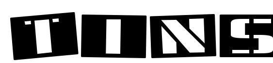 Шрифт Tinsnips