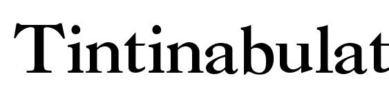 Tintinabulation bold Font