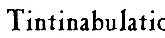 Шрифт Tintinabulation