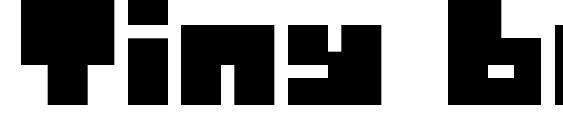 Шрифт Tiny box blackbita8