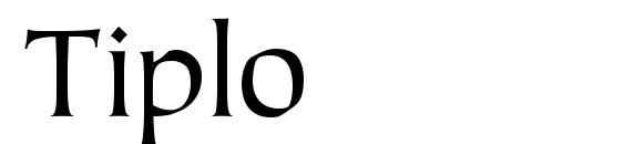 Шрифт Tiplo