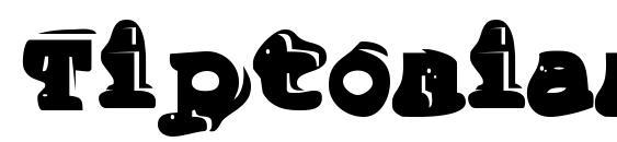 шрифт Tiptonian, бесплатный шрифт Tiptonian, предварительный просмотр шрифта Tiptonian