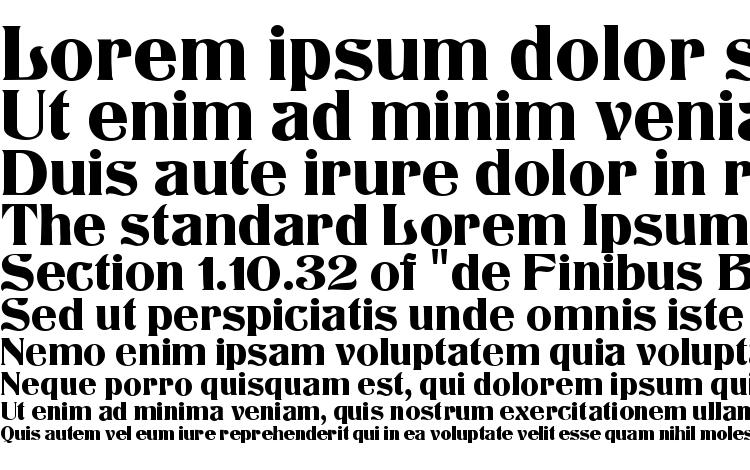 specimens Titania MF font, sample Titania MF font, an example of writing Titania MF font, review Titania MF font, preview Titania MF font, Titania MF font