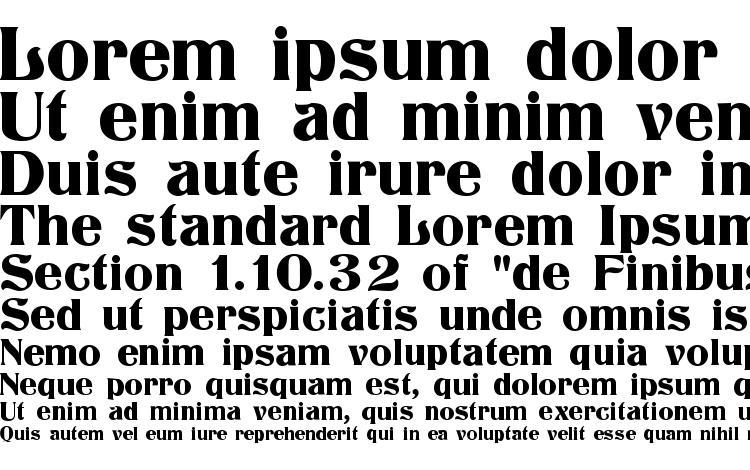 specimens Titania font, sample Titania font, an example of writing Titania font, review Titania font, preview Titania font, Titania font