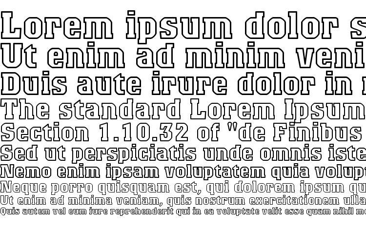 specimens Titanic outline font, sample Titanic outline font, an example of writing Titanic outline font, review Titanic outline font, preview Titanic outline font, Titanic outline font