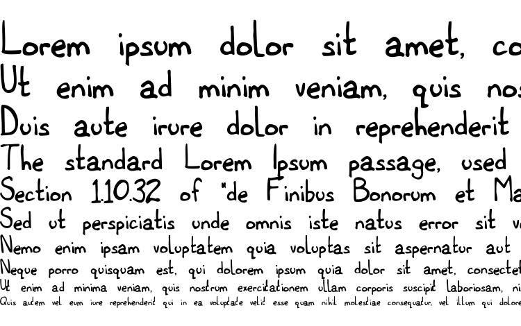 specimens Titwillow font, sample Titwillow font, an example of writing Titwillow font, review Titwillow font, preview Titwillow font, Titwillow font
