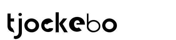 tjockebo Font