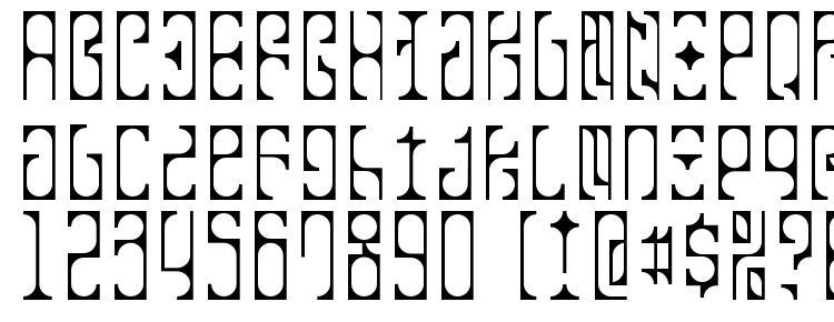 glyphs Tko crazy font, сharacters Tko crazy font, symbols Tko crazy font, character map Tko crazy font, preview Tko crazy font, abc Tko crazy font, Tko crazy font
