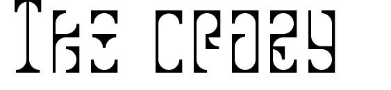 Tko crazy Font