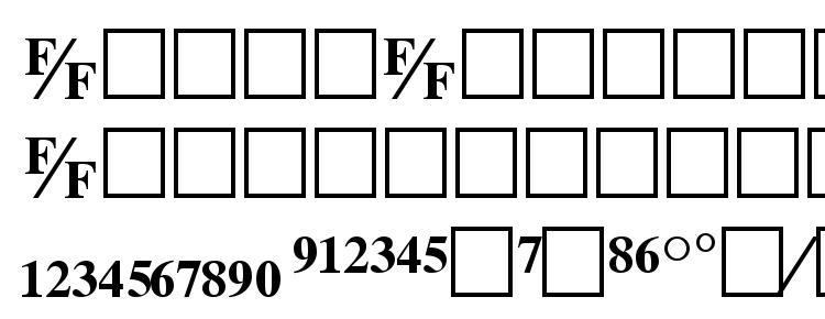глифы шрифта Tmsfb bold, символы шрифта Tmsfb bold, символьная карта шрифта Tmsfb bold, предварительный просмотр шрифта Tmsfb bold, алфавит шрифта Tmsfb bold, шрифт Tmsfb bold
