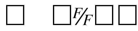 Шрифт TmsFB Italic