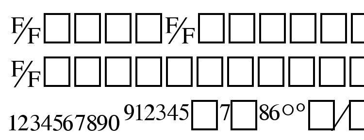 глифы шрифта Tmsfb, символы шрифта Tmsfb, символьная карта шрифта Tmsfb, предварительный просмотр шрифта Tmsfb, алфавит шрифта Tmsfb, шрифт Tmsfb
