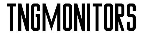TNGMonitors Font