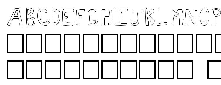 glyphs Toast font, сharacters Toast font, symbols Toast font, character map Toast font, preview Toast font, abc Toast font, Toast font