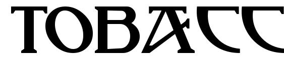 шрифт TobaccoRoadNF, бесплатный шрифт TobaccoRoadNF, предварительный просмотр шрифта TobaccoRoadNF