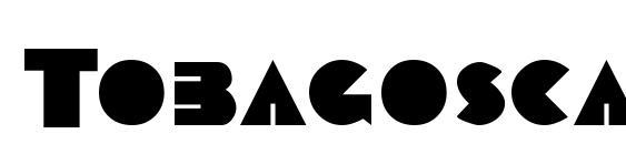 Tobagoscapsssk bold Font