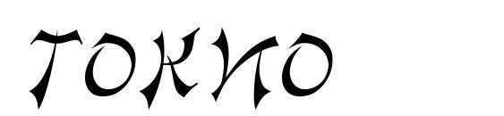 шрифт Tokio, бесплатный шрифт Tokio, предварительный просмотр шрифта Tokio