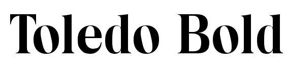 Toledo Bold Font