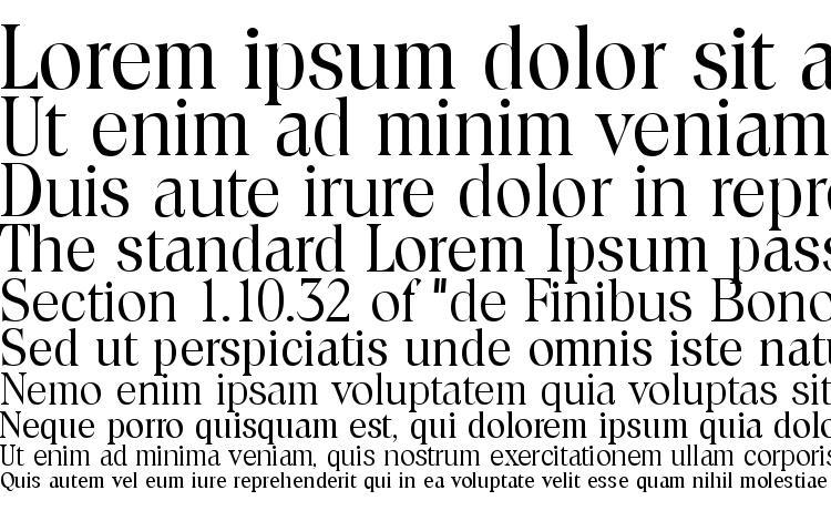 specimens Toledo Regular font, sample Toledo Regular font, an example of writing Toledo Regular font, review Toledo Regular font, preview Toledo Regular font, Toledo Regular font