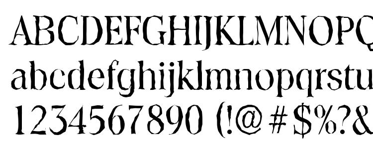 глифы шрифта ToledoAntique Regular, символы шрифта ToledoAntique Regular, символьная карта шрифта ToledoAntique Regular, предварительный просмотр шрифта ToledoAntique Regular, алфавит шрифта ToledoAntique Regular, шрифт ToledoAntique Regular
