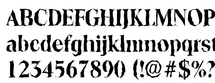 glyphs ToledoRandom Bold font, сharacters ToledoRandom Bold font, symbols ToledoRandom Bold font, character map ToledoRandom Bold font, preview ToledoRandom Bold font, abc ToledoRandom Bold font, ToledoRandom Bold font
