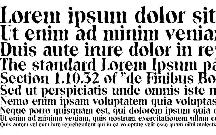 specimens ToledoRandom Bold font, sample ToledoRandom Bold font, an example of writing ToledoRandom Bold font, review ToledoRandom Bold font, preview ToledoRandom Bold font, ToledoRandom Bold font