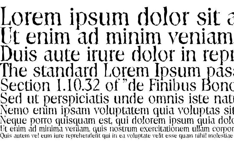 specimens ToledoRandom Regular font, sample ToledoRandom Regular font, an example of writing ToledoRandom Regular font, review ToledoRandom Regular font, preview ToledoRandom Regular font, ToledoRandom Regular font