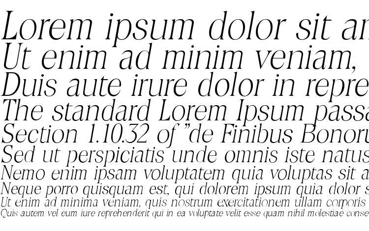 specimens ToledoSerial Xlight Italic font, sample ToledoSerial Xlight Italic font, an example of writing ToledoSerial Xlight Italic font, review ToledoSerial Xlight Italic font, preview ToledoSerial Xlight Italic font, ToledoSerial Xlight Italic font