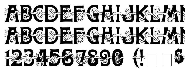 glyphs Toletto Medium font, сharacters Toletto Medium font, symbols Toletto Medium font, character map Toletto Medium font, preview Toletto Medium font, abc Toletto Medium font, Toletto Medium font