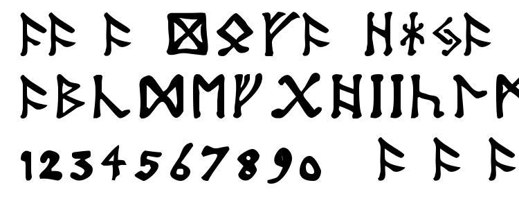 глифы шрифта Tolkien dwarf runes, символы шрифта Tolkien dwarf runes, символьная карта шрифта Tolkien dwarf runes, предварительный просмотр шрифта Tolkien dwarf runes, алфавит шрифта Tolkien dwarf runes, шрифт Tolkien dwarf runes