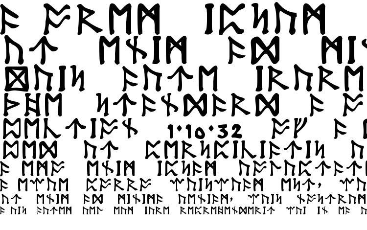 образцы шрифта Tolkien dwarf runes, образец шрифта Tolkien dwarf runes, пример написания шрифта Tolkien dwarf runes, просмотр шрифта Tolkien dwarf runes, предосмотр шрифта Tolkien dwarf runes, шрифт Tolkien dwarf runes