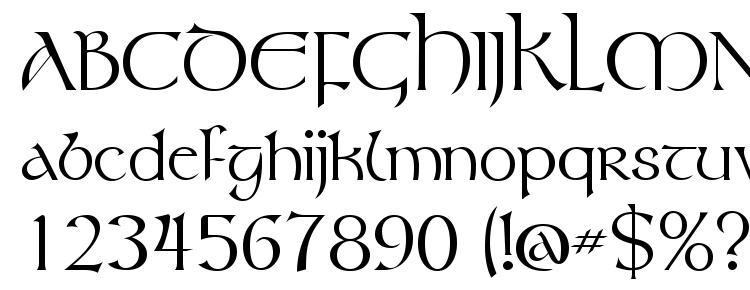глифы шрифта Tolkien Regular, символы шрифта Tolkien Regular, символьная карта шрифта Tolkien Regular, предварительный просмотр шрифта Tolkien Regular, алфавит шрифта Tolkien Regular, шрифт Tolkien Regular