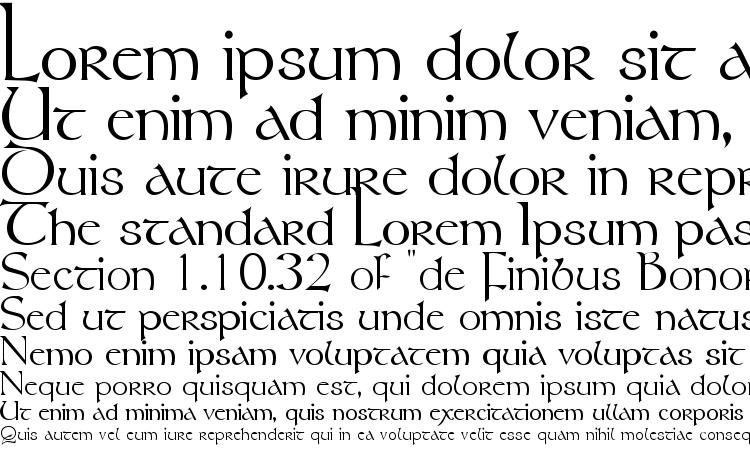 specimens Tolkien font, sample Tolkien font, an example of writing Tolkien font, review Tolkien font, preview Tolkien font, Tolkien font