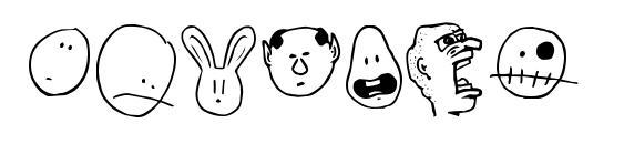 шрифт Tombats Smilies, бесплатный шрифт Tombats Smilies, предварительный просмотр шрифта Tombats Smilies