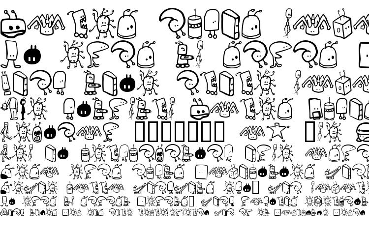 specimens Tombots font, sample Tombots font, an example of writing Tombots font, review Tombots font, preview Tombots font, Tombots font