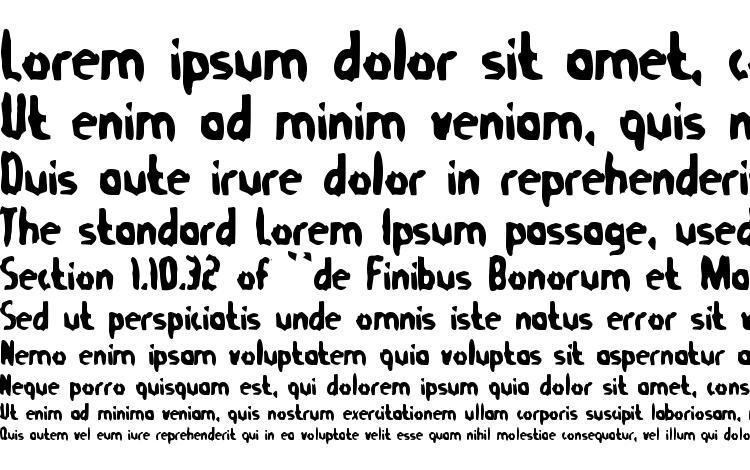 specimens TommyGun font, sample TommyGun font, an example of writing TommyGun font, review TommyGun font, preview TommyGun font, TommyGun font